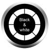 Gobo dicroico bianco e nero