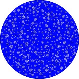 Disco animazione fiocchi di neve stilizzati 2 - Divum