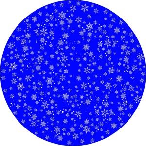 Disco animazione fiocchi di neve stilizzati 2 - Golive