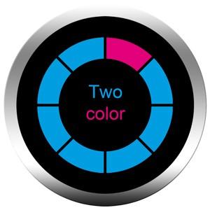 Gobo dicroico 2 colori