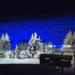Configura proiettore per effetti natalizi GoLux Effect
