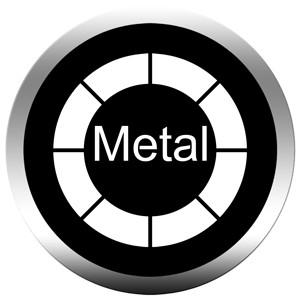 Gobo in metallo