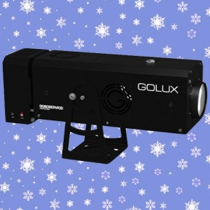 Location Projecteur de Noël GoLux 1000