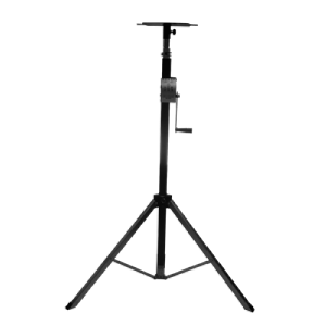 Extendable stand with winch