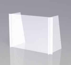 Schutzwand mit vollständiger Deckung